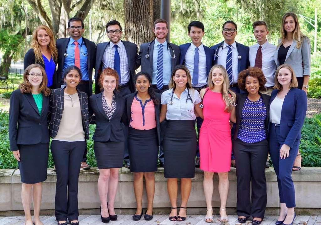 16 Honors Program students